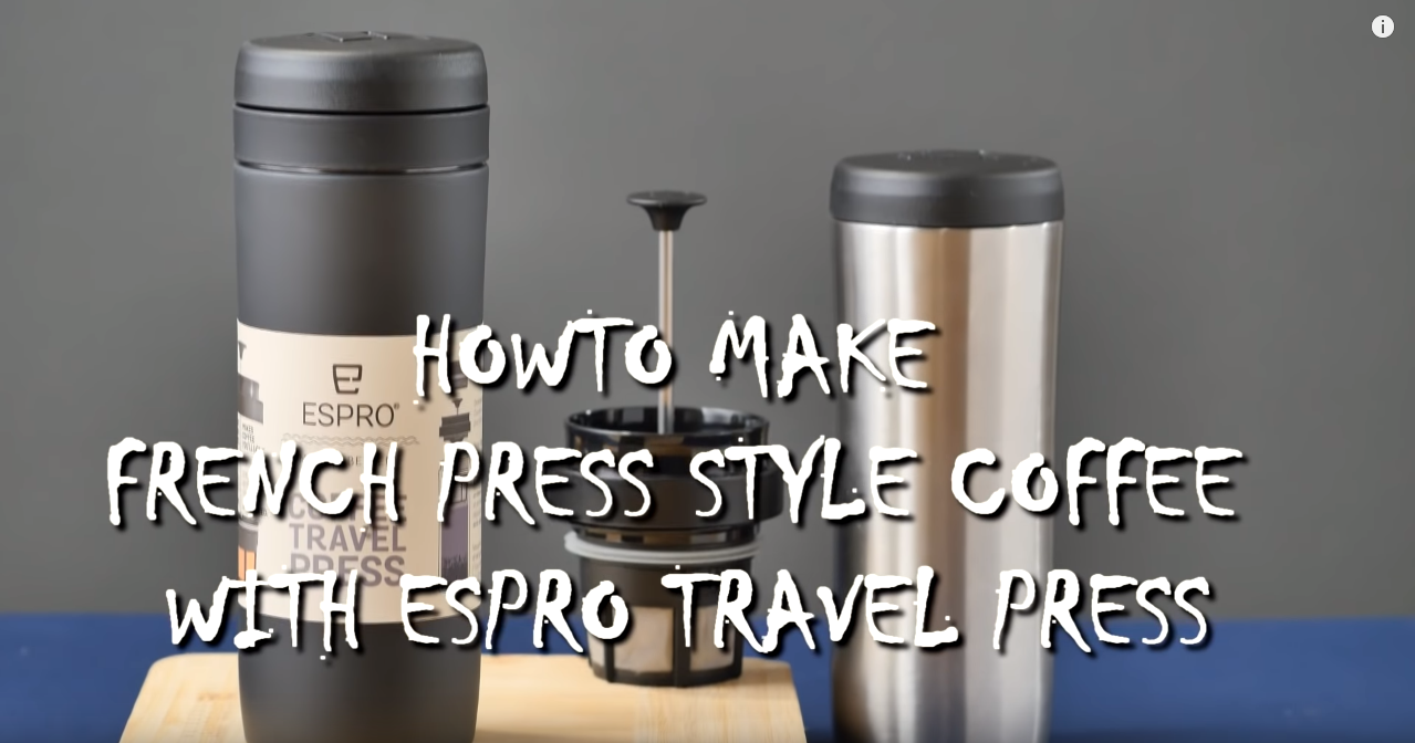 ESPRO - HOW TO MAKE FRENCH PRESS COFFEE